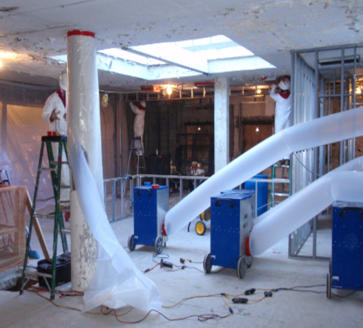 Commercial Water Damage Clean Up & Mitigation