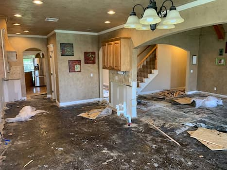water damage repair Springfield VA